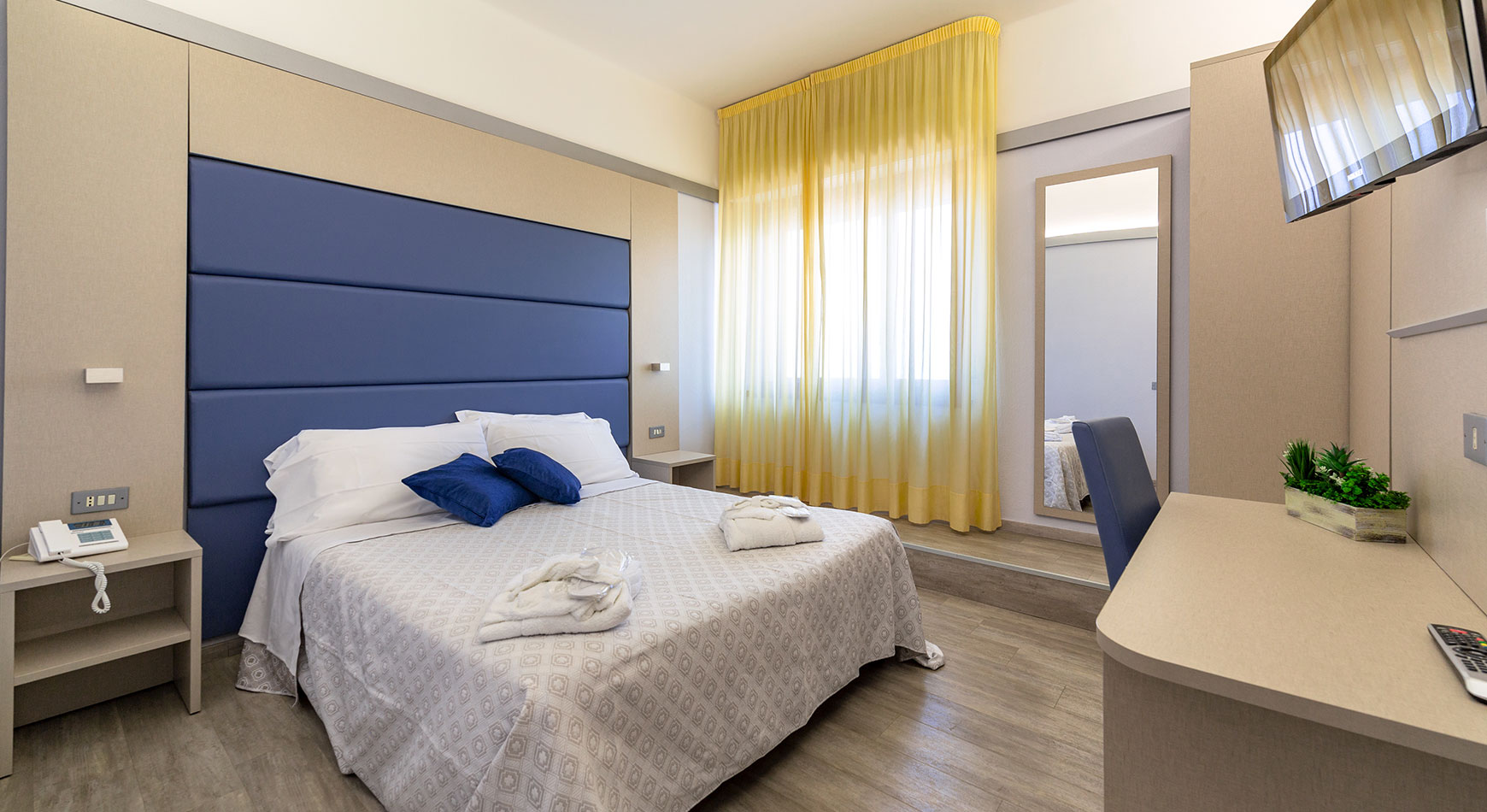 Camere hotel 4 stelle Fano